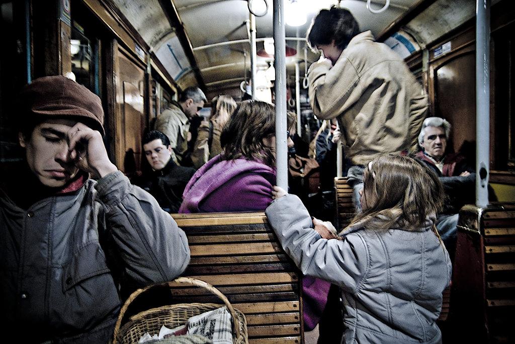 Photo of Samsun Tramvayında Üç Kadın