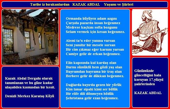 Photo of ORMANDA BÜYÜYEN ADAM AZGINI, Kazak Abdal'ın Hikayesi – Cemil Biçer yazdı…