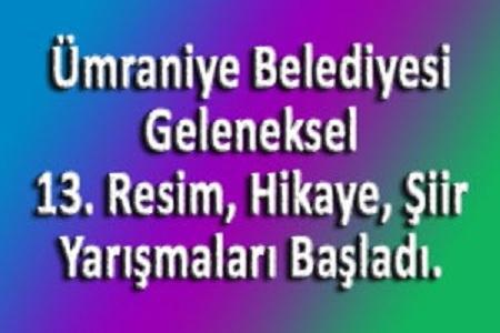 Photo of Ümraniye Belediyesi, Geleneksel Resim, Hikâye ve Şiir Yarışma Başvuruları