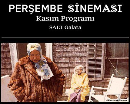 Photo of Salt Galata'da Perşembe Sineması Kasım Programı