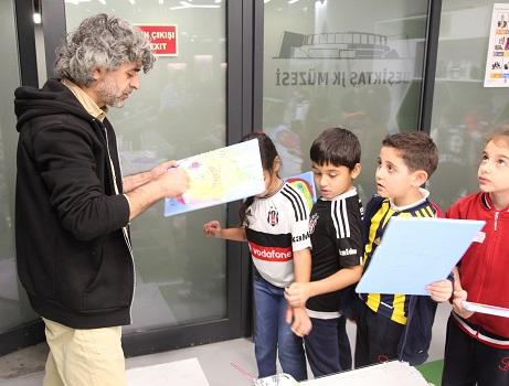 Photo of Çocuklar Beşiktaş JK Müzesi'nde 'sanat' ile öğrenecek!