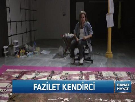 Photo of Fazilet Kendirci 'Anadolu' çalışmasını anlattı.