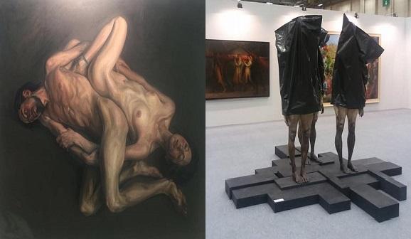 Photo of Sanat Fuarında hem resimlere hem heykellere sansür!