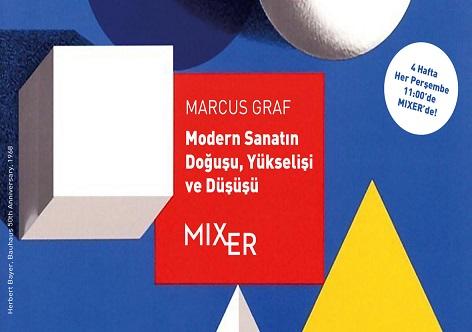 """Photo of Mixerarts Seminer – Marcus Graf """"Modern Sanatın Doğuşu, Yükselişi ve Düşüşü"""""""