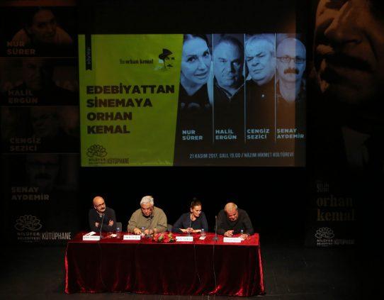 """Photo of """"Edebiyattan Sinemaya Orhan Kemal"""""""