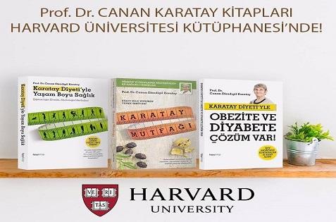 Photo of Canan Karatay'ın kitapları Harvard Üniversitesi'ne girdi!