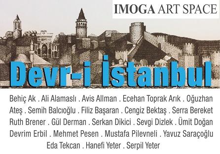"Photo of Kuzguncuk IMOGA Art Space Karma Resim Sergisi – ""Devr-i İstanbul"""