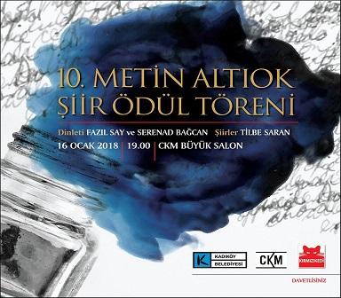 Photo of Caddebostan Kültür Merkezi – Metin Altıok Şiir Ödülü