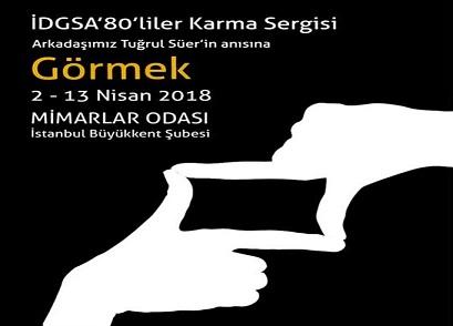 Photo of Mimarlar Odası İstanbul Büyükkent Şubesi Karma Resim Sergisi – 'Görmek'
