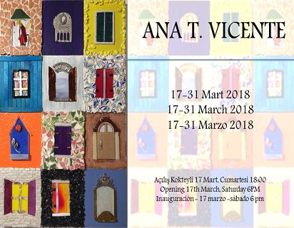 Photo of Galeri Bohem Mozaik Sergisi – Ana T. Vicente 'Parçacıklarda Sanat/Art In Tiny Bits'