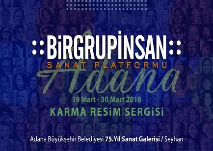 Photo of Adana 75. Yıl Sanat Galerisi Karma Resim Sergisi – :BİRGRUPİNSAN:ADANA