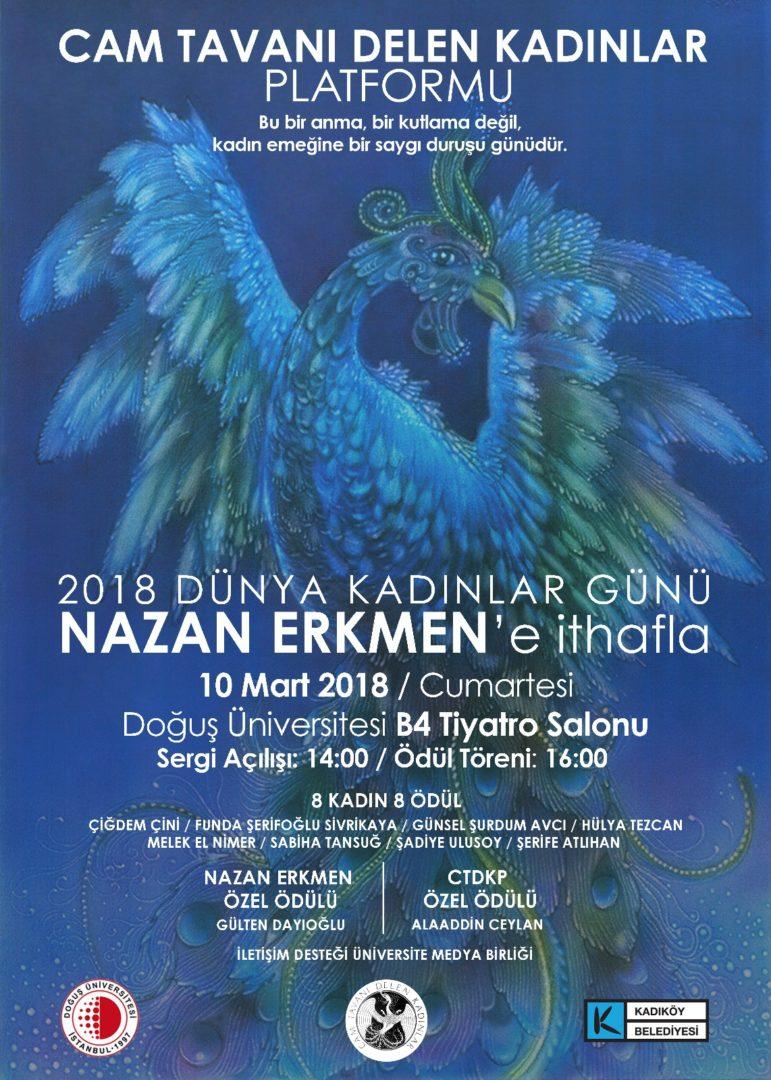 Photo of Doğuş Üniversitesi Resim Sergisi – Nazan Erkmen 'Kadın ve Göç Çocukları'