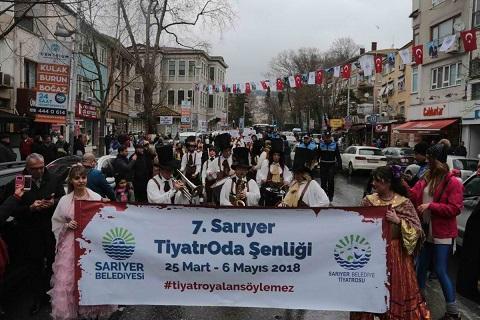 Photo of 'Sarıyer TiyatrOda Şenliği' Başladı!