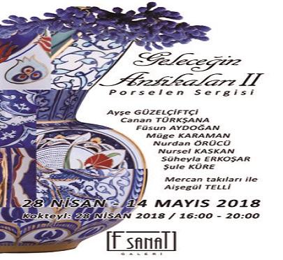 "Photo of F Sanat Galeri Porselen Sergisi – ""GELECEĞİN ANTİKALARI II"""