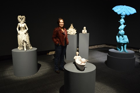 Photo of Yonca Saraçoğlu'nun heykelleriyle 'GAİA'NIN GÜNCESİ'