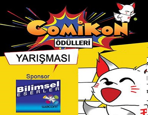 Photo of COMİKON ÖDÜLLERİ YARIŞMA BAŞVURULARI BAŞLADI!
