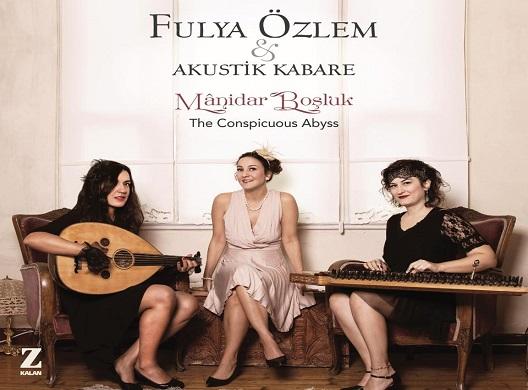 Photo of 'Mânidar Boşluk' fasıl enstrümanlarıyla kaydedilmiş bir makam müziği albümü