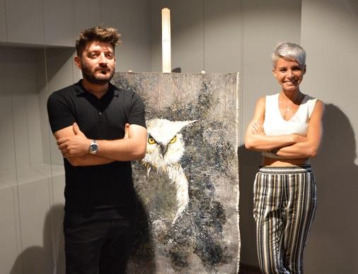 """Photo of İki sanatçıdan """"Bir iki delilik"""""""