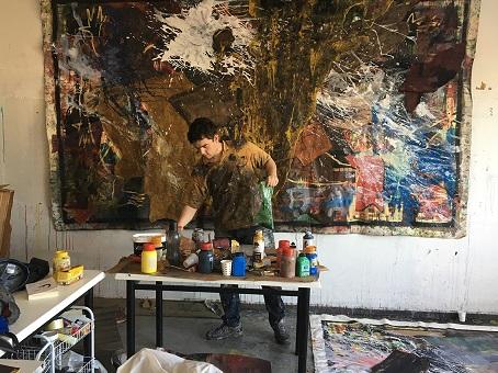 """Photo of DDesign Gallery Maslak Resim Sergisi – Melih Koçali """"What is happening?"""""""
