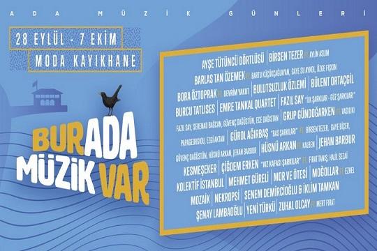 """Photo of Moda Kayıkhane Ada Müzik Günleri – """"Burada Müzik Var"""""""