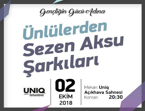 Photo of UNIQ Açıkhava Sahnesi Konser – Ünlülerden Sezen Aksu Şarkıları