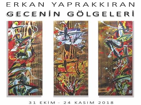 """Photo of F Sanat Galerisi Resim Sergisi – Erkan Yaprakkıran """"Gecenin Gölgeleri"""""""