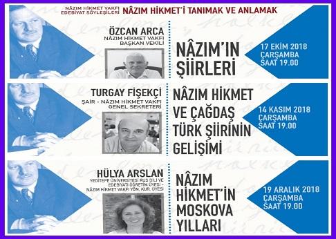 Photo of Şişli Belediyesi Nâzım Hikmet Kültür ve Sanat Evi Edebiyat Söyleşileri