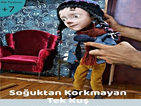 Photo of Tiyatro Gülgeç Kukla Tiyatrosu – 'Soğuktan Korkmayan Tek Kuş'