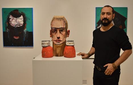 Photo of Barış Cihanoğlu'nun 'Yara' saran eserleri bu sergide!