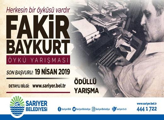 Photo of FAKİR BAYKURT ÖYKÜ YARIŞMASI BAŞVURULARI BAŞLADI