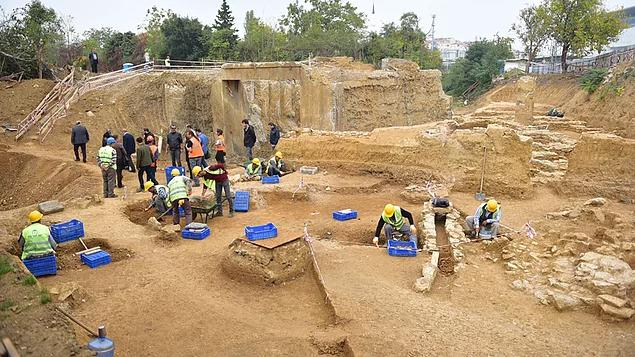 Photo of Haydarpaşa'da, antik Khalkedon kentinde yeni buluntular
