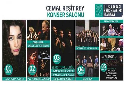 Photo of İstanbul Birinci Uluslararası Halk Müzikleri Festivali