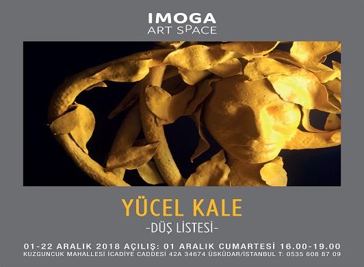 "Photo of IMOGA Art Space Heykel Sergisi – Yücel Kale ""Düş Listesi"""