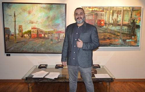 """Photo of Ressam Alp Yavuz'dan """"Bir Beyoğlu Senfonisi"""""""