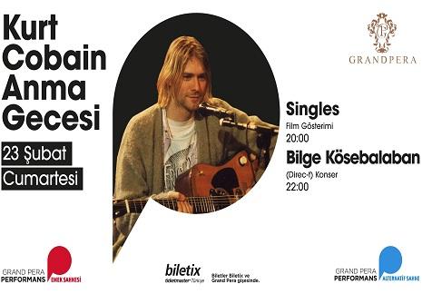 Photo of Grand Pera Emek Sahnesi – Kurt Cobain Anma Gecesi
