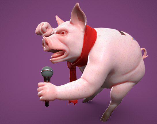 Photo of 'Bağımsız Sanat' konusunda mikrofonu kimseye bırakmayan 'Domuzcuk'