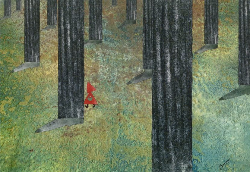 Photo of Ormanda dolaşan kırmızı başlıklı kızlar(Aydın Doğan Uluslararası Karikatür Yarışması) – Nihal Güres yazdı…