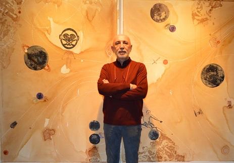 Photo of Evrenin rengi 'COSMIC LATTE', Murat Morova'nın eserlerinde!