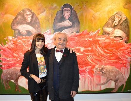 """Photo of Ekavart Gallery'de """"Tahayyüller Okyanusunda İki Kuş"""""""