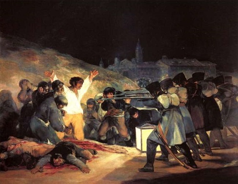 "FRANCISCO GOYA'nın ""THE THIRD OF MAY, 1808"" eseri – Aysu Altaş yazdı…"