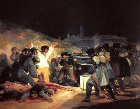 "Photo of FRANCISCO GOYA'nın ""THE THIRD OF MAY, 1808"" eseri – Aysu Altaş yazdı…"