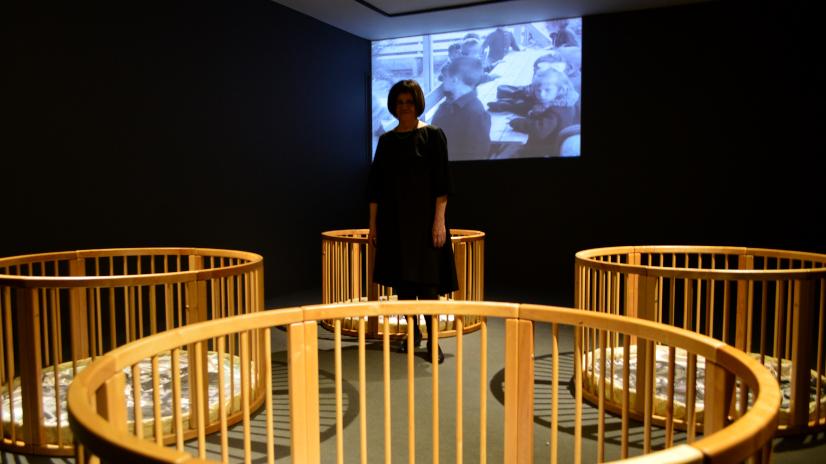 """Photo of Gülsün Karamustafa'nın """"Bebeği Kundaklamak"""" sergisi Merdiven Art Space'de!"""