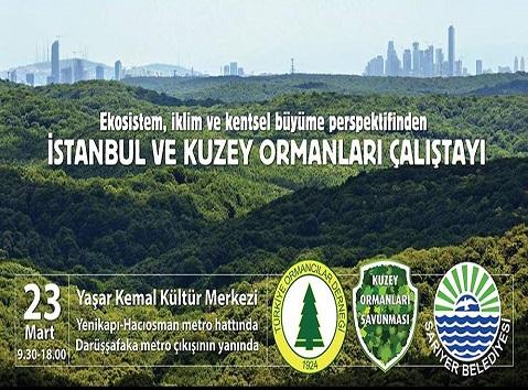 Photo of Sarıyer Belediyesi Yaşar Kemal Kültür Merkezi İstanbul ve Kuzey Ormanları Çalıştayı