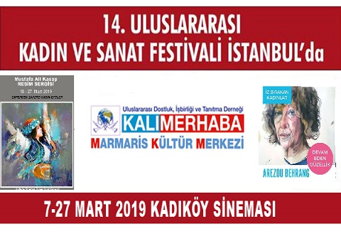 Photo of 14. ULUSLARARASI KADIN SANAT FESTİVALİ BAŞLIYOR!