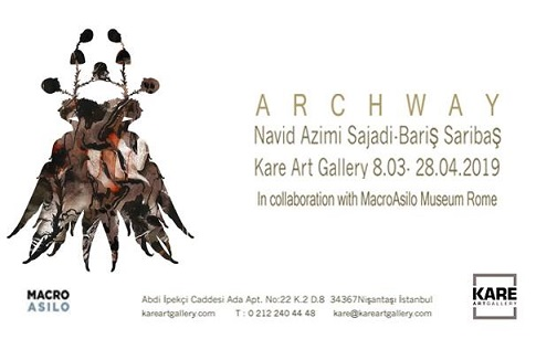 "Photo of Kare Art Gallery Sergi – Barış Sarıbaş & Navid Azimi Sajadi ""Archway Project"""
