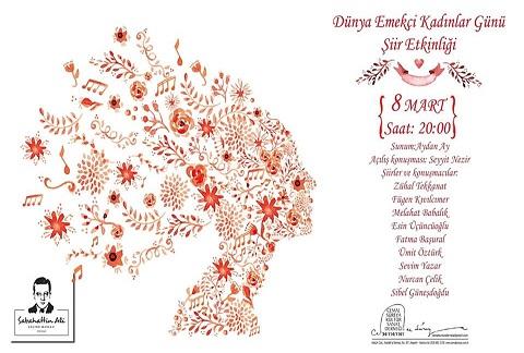Photo of Sabahattin Ali Kültür Merkezi – 8 Mart Dünya Emekçi Kadınlar Günü Şiir Etkinliği