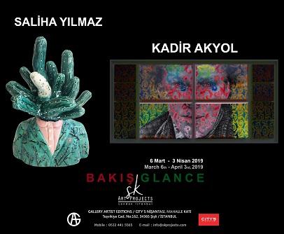 """Photo of SK Art Project Sergi – Saliha Yılmaz, Kadir Akyol """"Bakış / Galance"""""""