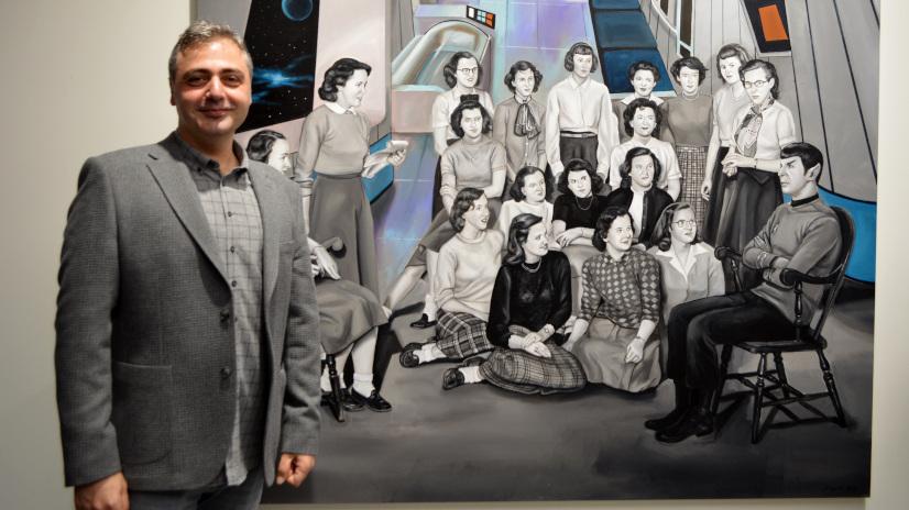 Photo of Sayat Uşaklıgil'in 'Mutlu Kalabalıklar'ı Galeri 77'de!