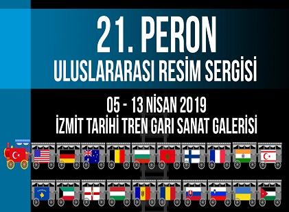 Photo of İzmit Tarihi Tren Garı Sanat Merkezi – 21. Peron Uluslararası Resim Sergisi
