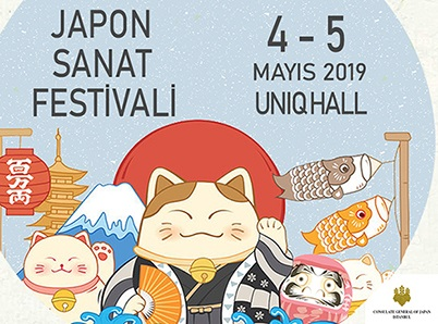 Photo of JAPON SANAT FESTİVALİ UNIQHALL'DA BAŞLIYOR!
